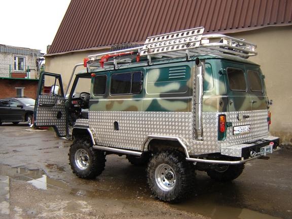 Тюнинг УАЗ-469 Хантер для бездорожья своими руками 90